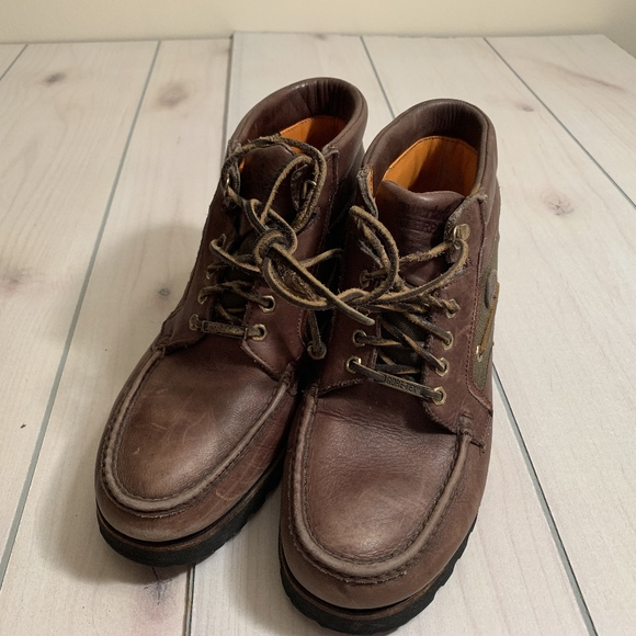 mens 12 timberland leather boot gore tex vibram br